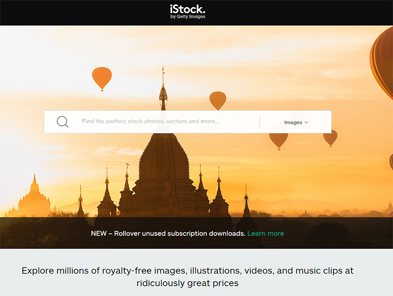 Find Stock Photos with iStockphoto